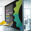 Internal Office Wall branding