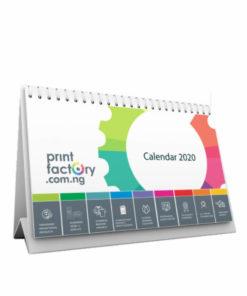 A5 Table Calendar