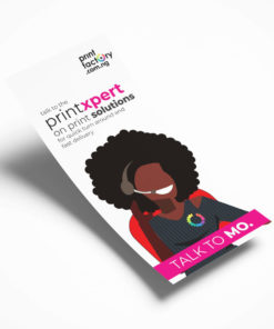 DL-FLYER-PRINT-SINGLE SIDE-printfactory-lagos