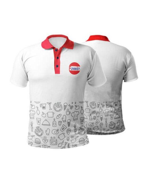 Customized pattern t-shirt