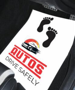 Branded car mat image